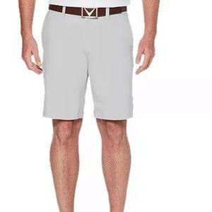 Callaway light gray golf shorts 38
